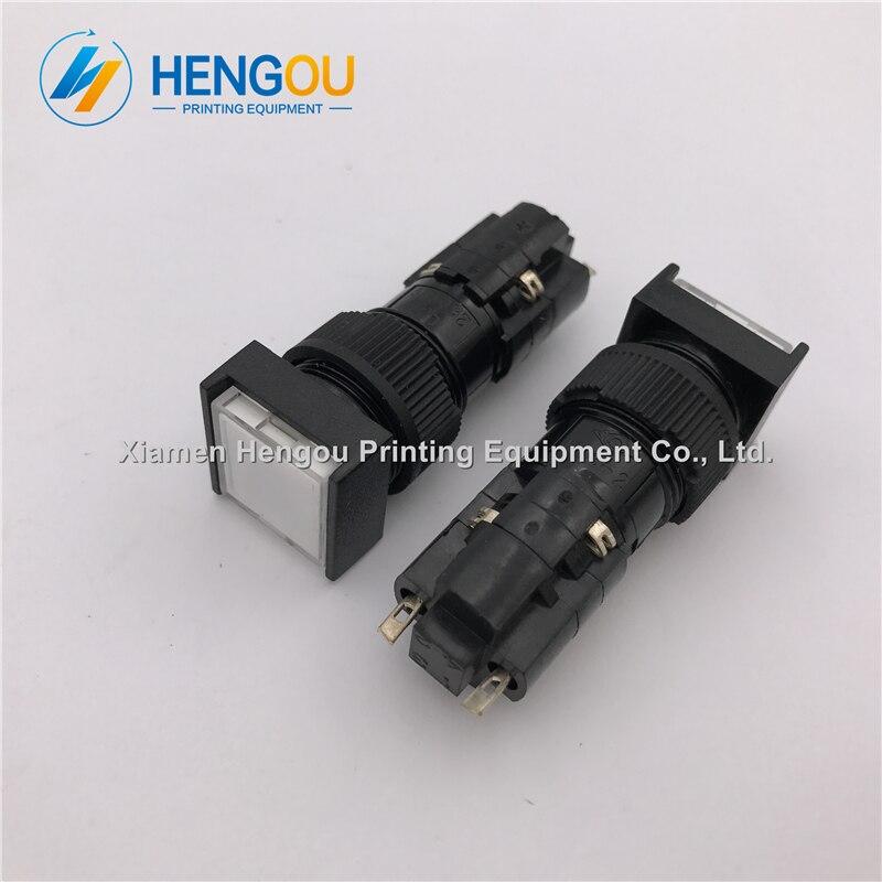 10 pieces Hengoucn machine CPC push button 71 186 4421 Hengoucn replacement parts