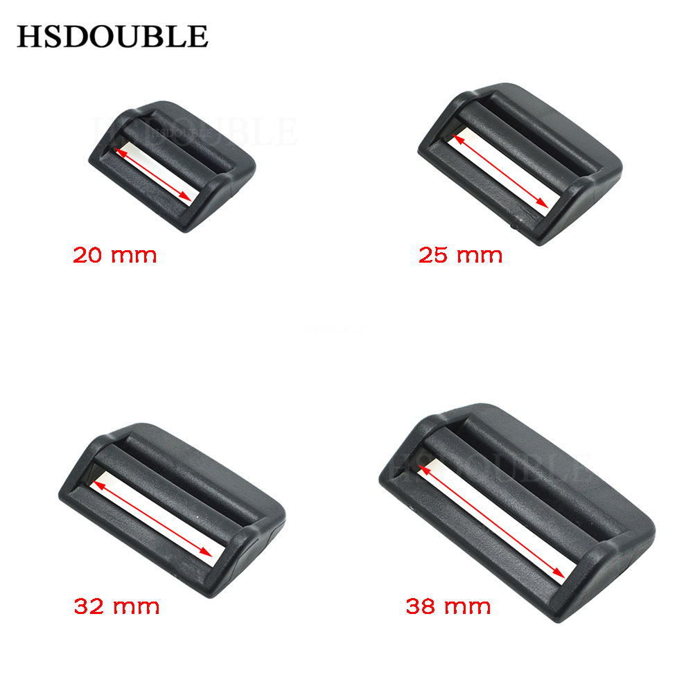 Sizes Available 19mm // 25mm // 32mm // 38mm Ladderlock Buckle for Webbing 5Pcs