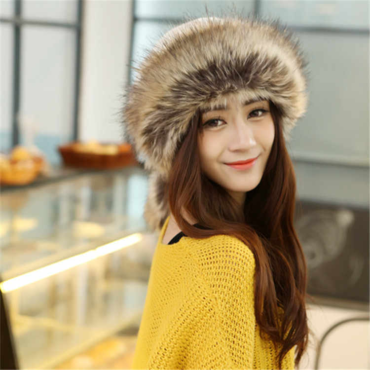 67641475350 New Fashion Headwear Cute Fur Bandanas Cap Birthday Party Hair Accessories  Head Band Bandage Headbands For