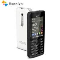 Hot Sale Unlocked Nokia 301 Original GSM 2 4 Dual SIM Cards 3 2MP QWERTY Keyboard