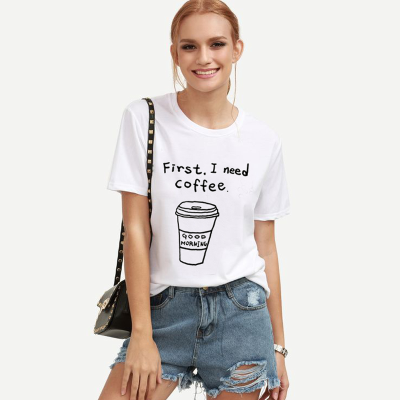 5ae10887e9a8 Dropwow HONEY Letter Print Summer 2018 Spring T-Shirt Women Tops ...