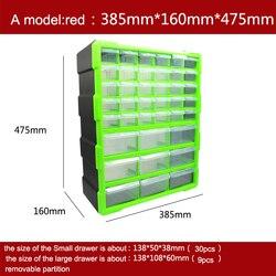 Caja de Herramientas clasificación de caja de ark Multi-grid cajón tipo lego bloques de construcción recibir caja de alta calidad