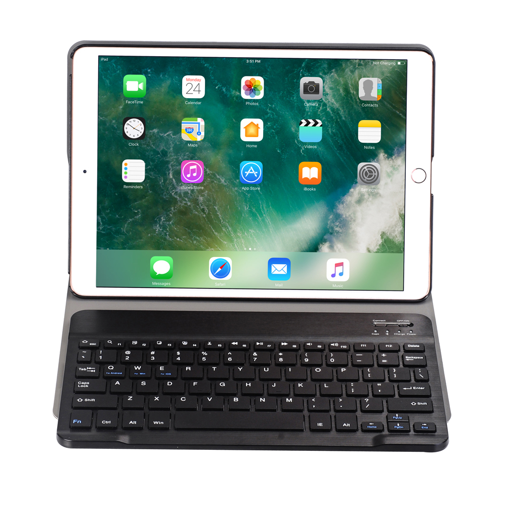 GrassRoot Tablet Case Multi-function Removable Wireless Bluetooth Keyboard For apple ipad pro 9.7 inch New 2017 Air 1 Air2 Case