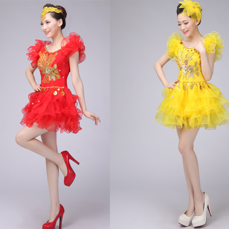 90f086d4d Female Jazz dance costumes Girls Sequined Hip Hop dancewear clothes ...