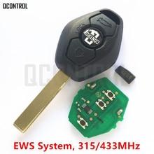 QCONTROLรถกุญแจรีโมทDIYสำหรับBMW EWS X3 X5 Z3 Z4 1/3/5/7ชุดkeyless e Ntryส่งสัญญาณ
