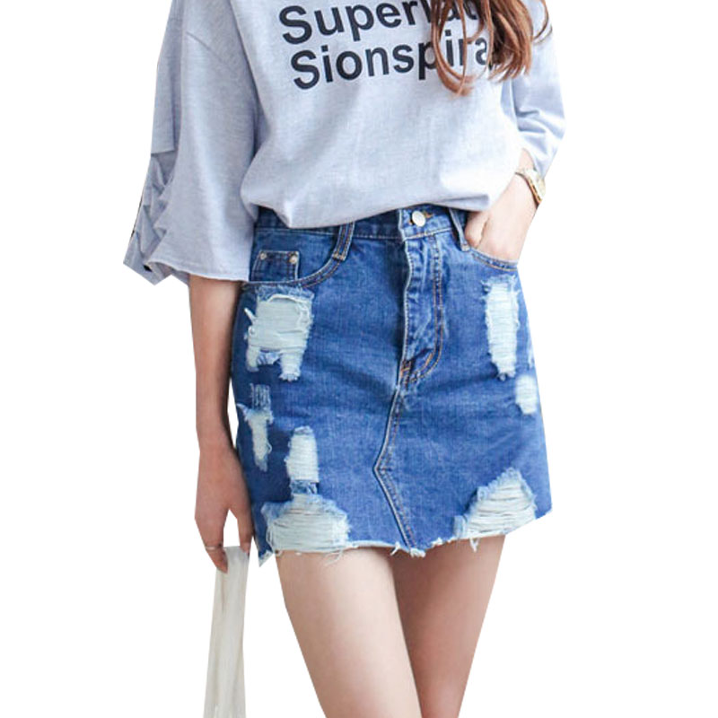 Aliexpress.com : Buy Summer 2016 Women Denim Skirt Jeans Short