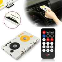 Tragbare Vintage Auto Kassette SD MMC MP3 Band Player Adapter Kit Mit Fernbedienung Stereo Audio Kassette Player UNS/ EU Stecker