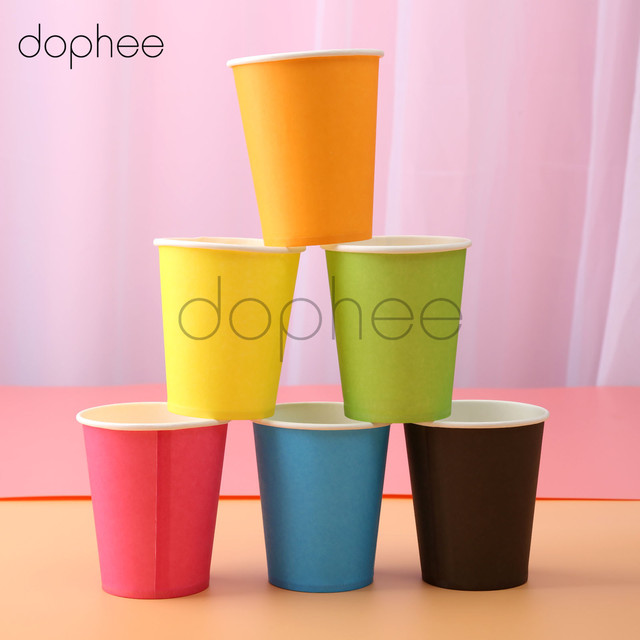dophee Party supplies 10pcs Paper Cup for Christmas Tableware Party Drinking Accessories one-off drinking & dophee Party supplies 10pcs Paper Cup for Christmas Tableware Party ...