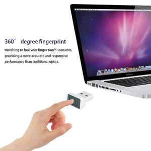 Image 3 - Usb leitor de impressão digital inteligente id para windows 10 32/64 bits senha livre de login/login lock/desbloquear computador e laptops