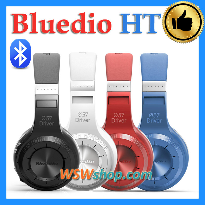 ФОТО Bludio HT Blue dio Wireless Bluetooth Head 41 Stereo Headphones Built in Mic Hands  Calls And Music Streaming