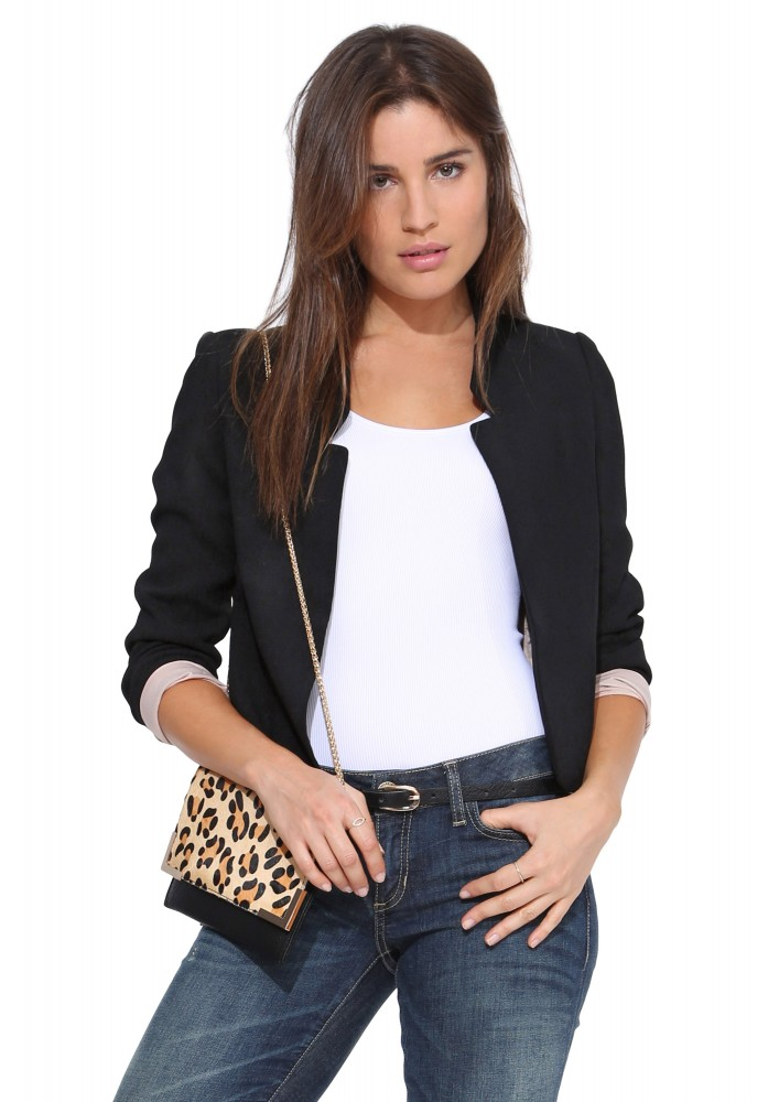 YYFS Fashion Ladies Blazer Long Sleeve Blaser Women Suit jacket Feminine Blazer Femme White Black Blazer Autumn