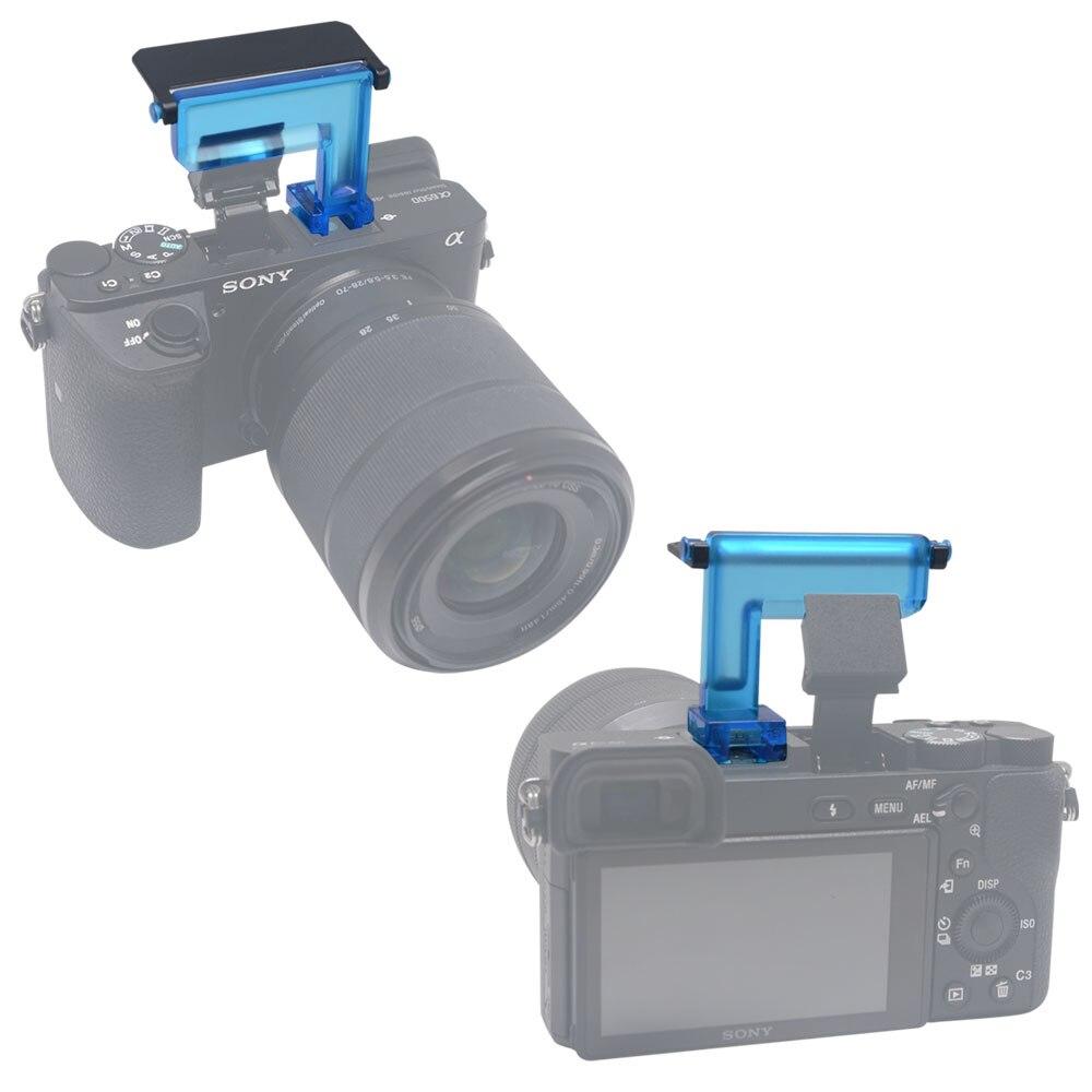 Mcoplus 4 түсті диффузоры Flash Bounce Cards Sony A6500 - Камера және фотосурет - фото 5