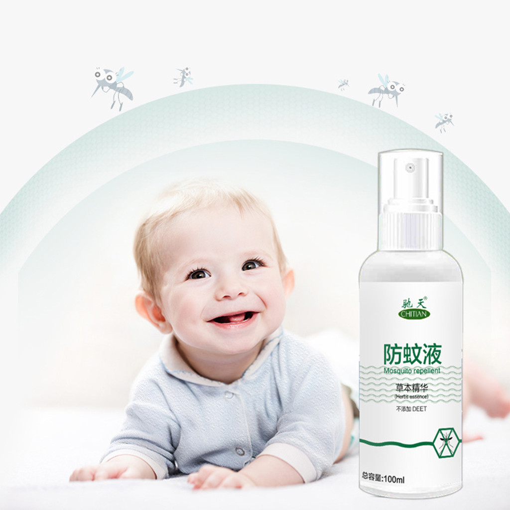 100ML Anti-Mosquito Spray Mosquito Repellent Water Spray Anti-Mosquito Bites For Children And Adults Practical Quick Delivery image