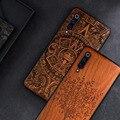 Neue Für Xiaomi Mi 9 Mi 10 Fall Schlanke Holz Zurück Abdeckung TPU Stoßstange Fall Auf Xiaomi Mi 9 Lite xiomi Mi9 SE Mi 10 Pro Telefon Fällen-in Angepasste Hüllen aus Handys & Telekommunikation bei