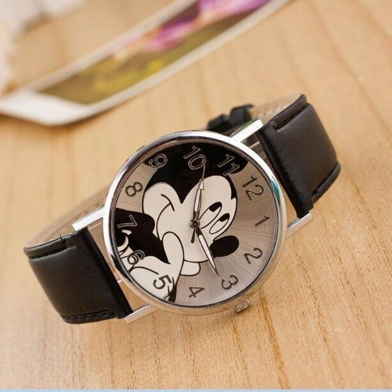 Reloj mujer New Mickey часы для женщин Outdoor Sport Digital кварцевые часы кожа Kids cartoon Watch Gift +% D1% 87% D0% B0% D1% 81% D1% 8B +% D0% B4% D0% BB% D1% 8F +% D1% 81% D0% BF% D0% BE% D1% 80% D1% 82% D0% B0