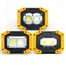 1 шт прожектор светильник 30 Вт dc5v 400 лм usb Зарядка 18650