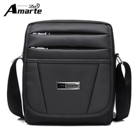 Amarte Brand Black Business Man Bags Fashion Shoulder Bag Quality Oxford Male Messenger Bags Casual Crossbody