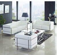 U-BEST ofis kesit kanepe mobilya, LC3 Kesit Salon Kanepe, oturma odası lüks deri kanepe, modern tasarım kesit kanepe