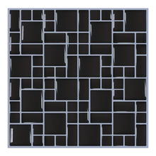 2019 Modern Black 3D Wall Tile  Brick Wall Papers 6 PCs For Bathroom Kitchen Home Decor Wall Stickers Wall Paper Decals