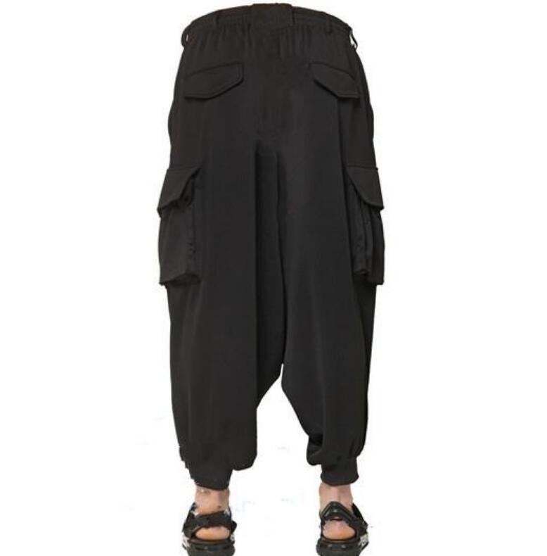 Caliente 40 Cerrados Bolsillos 2019 Pantalones Hombres Negro De Pierna Ancho Primavera 27 Nuevos Pies Meditación pqgad5qw