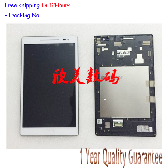 A++ quality Black For Asus Zenpad 8.0 Z380 Z380KL Z380 LCD display+Touch screen Panel Digitizer with frame in stock!