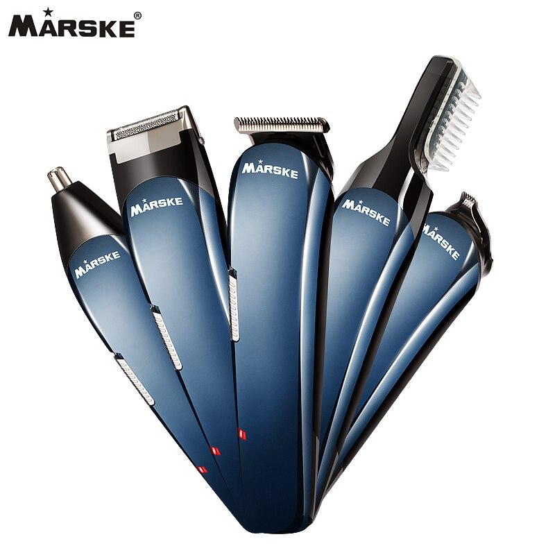 Électrique Rasoir 5in1 Multifonctions Rasage Machine Nez & Tondeuse ElectricToothbrush IPX6 Étanche Avec Support