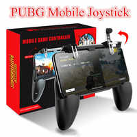 PUBG Mobile Joystick Gamepad Metal L1 R1 Button All-in-One Mobile Game Controller Free Fire PUGB for Android iPhone 6 7 8 plus