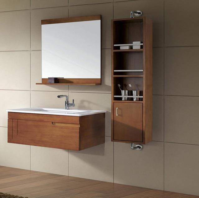 Linkok Furniture Craftsman Marble Factory Direct Tall Mirrored Illuminated Bathroom Cabinets