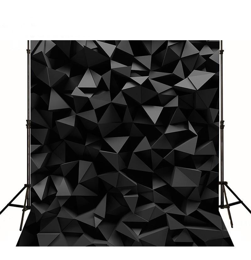 Таинственный черный бриллиант 3D фотостудия фон винила высокого качества Ткань Компьютер печатных партии фото фон