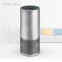 Link Face AI Speaker Wireless Bluetooth Speaker Wifi Smart Speaker Music Player Alexa Speaker Voice control Wake Up Sleep Assist