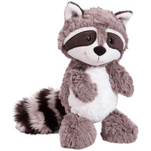цены на 25-55cm Cartoon Raccoon Plush Toy Lovely forest anime Soft Stuffed Animal Doll Appease Girl Child Kid Baby Birthday Gift  в интернет-магазинах