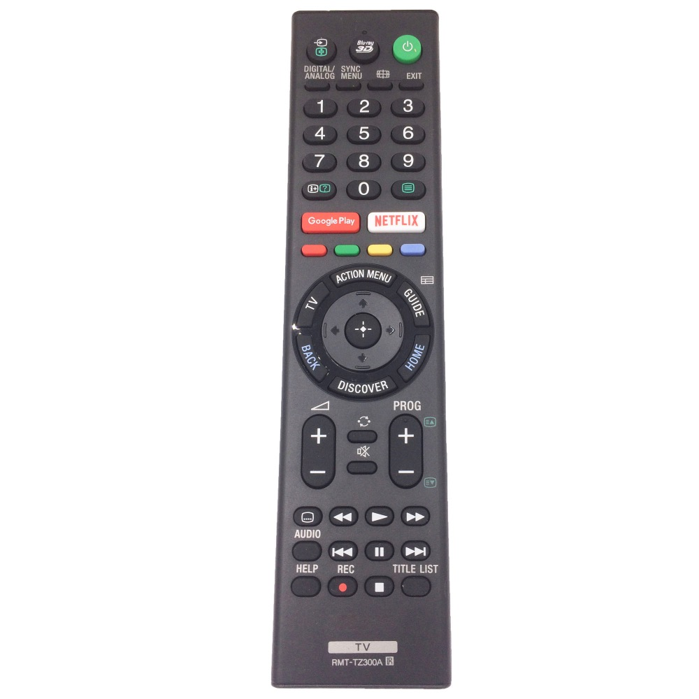 US $14 0 |RMT TZ300A Remote Control for SONY TV Bravia with Smart APP-in  Remote Controls from Consumer Electronics on Aliexpress com | Alibaba Group