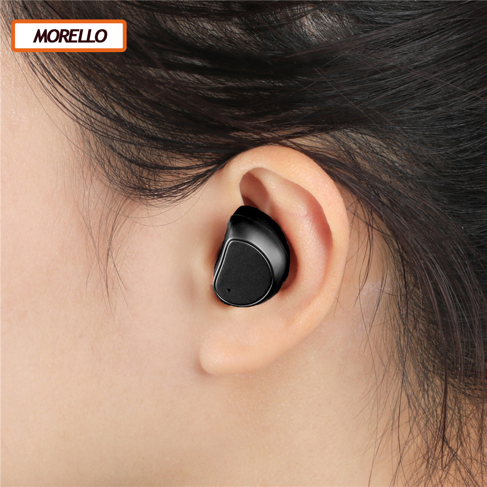 Wireless Bluetooth Earphone With Microphone Cordless Headsets Handsfree Auriculares Bluetooth 4.1 Sport Earbuds For IOS/Andriod sport running bluetooth earphone for samsung galaxy a3 2016 wireless earbuds headsets with microphone