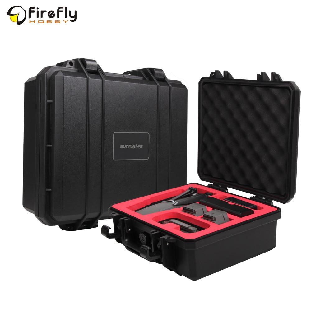Sunnylife Hardshell sac de rangement boîte de transport valise pour DJI MAVIC 2/MAVIC PRO/MAVIC AIR/SPARK Drone accessoire