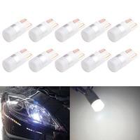 100pcs light bulbs for cars width lamp led reading lamp t10 1 3030 license plate lamp high luminous efficiency 12v 24v