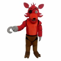 Custom Made CosplayDiy Unisex Mascot Costume Five Nights At Freddy's Toy Red Foxy Cosplay L0516