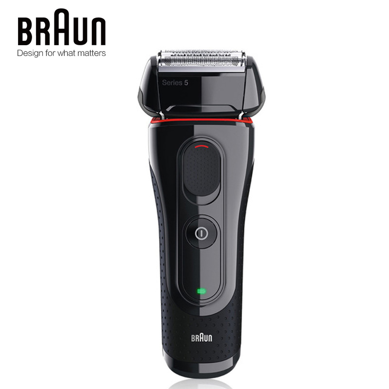Image 2 - Braun Electric Razor Shaver 5030s For Men Rechargeable Blades High Quality Shaving Safety Quick Charge Reciprocating Triple Head-in Electric Shavers from Home Appliances