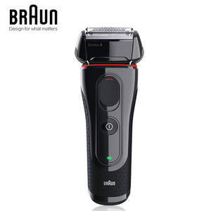 Image 2 - Braun Electric Razor Shaver 5030s For Men Rechargeable Blades High Quality Shaving Safety Quick Charge Reciprocating Triple Head
