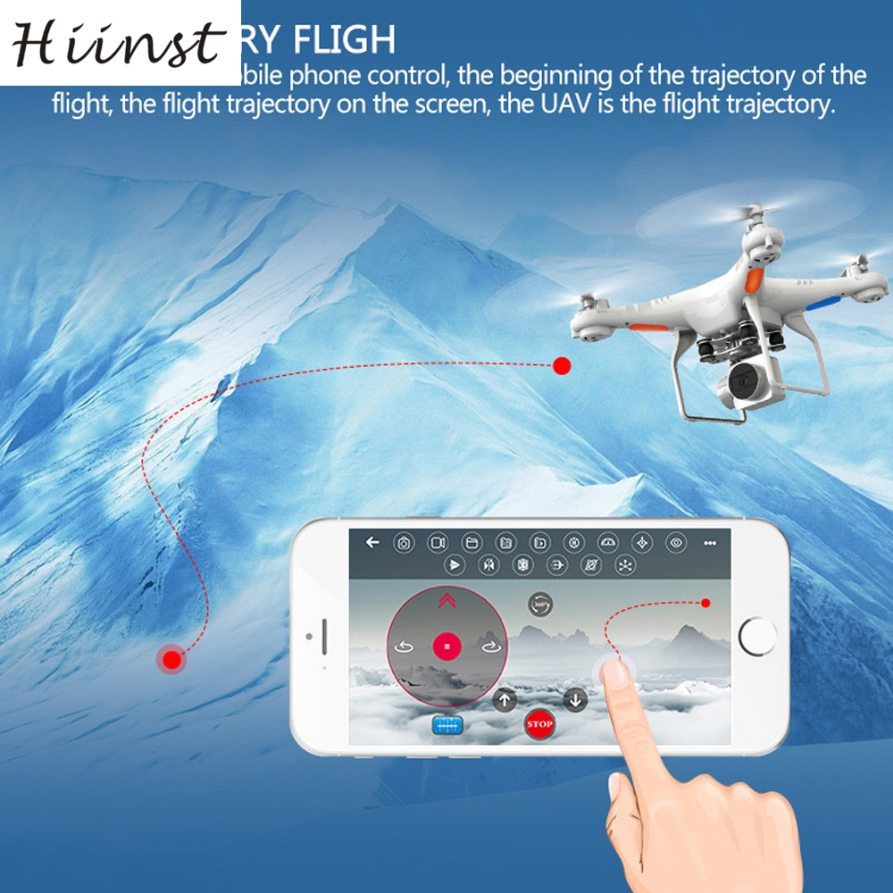 HIINST aircraft Wide Angle Lens HD Camera Quadcopter RC Drone WiFi FPV Live Helicopter Hover (200w 170 wide angle camera) Aug15 509g wifi rc drone hd camera video remote control kids toys 2 4g 6axis 360 rolling quadcopter helicopter aircraft plane toy
