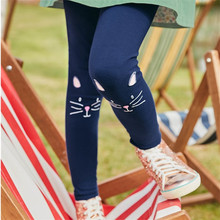 Baby Girl Pants Cute Cat Print Girls Leggings Cartoon Children Flower New Fashion Todder Beauty for