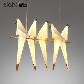 Moderne Led Kronleuchter Nordic Wohnzimmer Ausgesetzt Lampen
