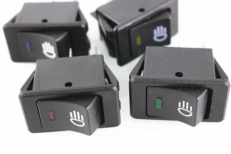 LED auto switch / modification / /12V 35A fog lamp switch rocker switch rocker switch