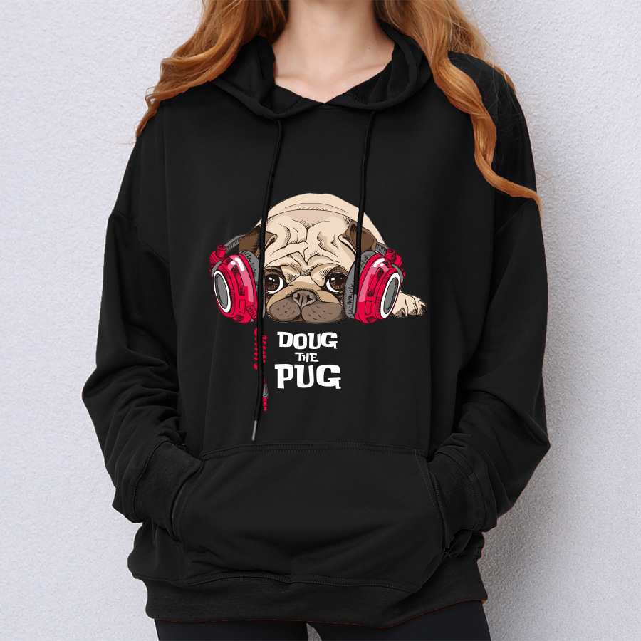 Reasonable New Fashion Cute French Bulldog Print 3d Hoodies Pullover Men Women Capless Sweatshirt Casual Long Sleeve 3d Hoodie Clothes Tops Street Price Men's Clothing