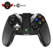 GameSir G4s Bluetooth 4.0/2.4G Wireless/Wired PUBG Gamepad Controlador de Jogo 800 mAh Capacidade para iOS Android PC PS3 pubg jogo(China)