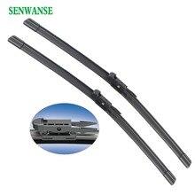 купить Senwanse Windshield Wiper blades for FIAT punto/Grande Punto 2005-2013 pair 26+15 car front window windscreen  auto accessories дешево