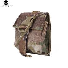 EMERSONGEAR LBT Stílus Egyetlen Frag Grenad tok Military Airsoft Paintball Combat Gear Molle Grenad Pouch EM6369