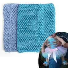 ABWE Best Sale Tube top for girl child tutu dress hook material 9 «blue