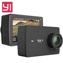 Original YI 4K Plus Action Camera 2.19′ Ambarella H2 for SONY IMX377 12MP 155 Degree 4K Ultra HD YI 4K+ Sports Action Camera