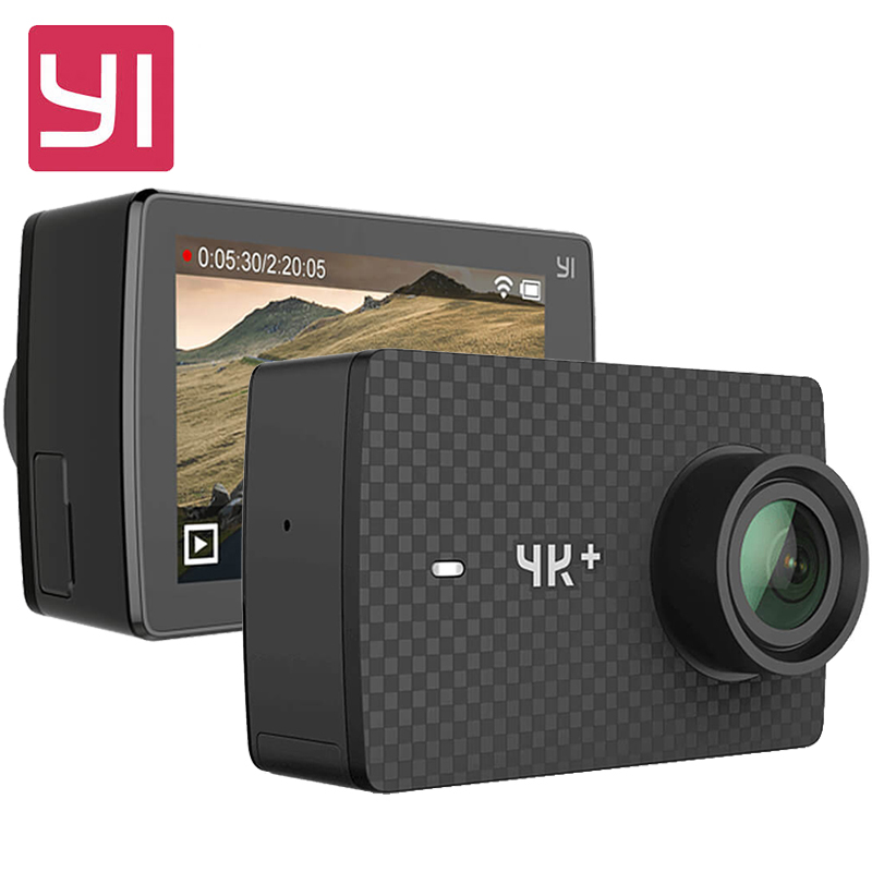 Originale YI 4 K Più Macchina Fotografica di Azione 2.19 'Ambarella H2 per SONY IMX377 12MP 155 Gradi 4 K Ultra HD YI 4 K + Sport Action fotocamera