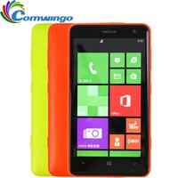 Déverrouillé nokia lumia 625 mobile téléphone 4.7 pouce écran tactile dual core gps wifi 3g 4g réseau